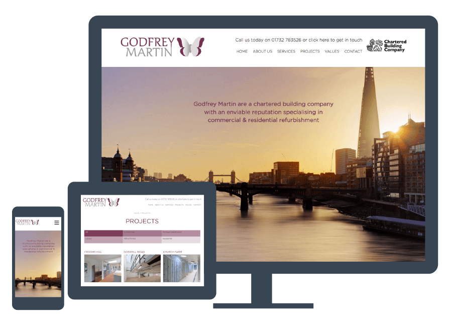 chartered building company website