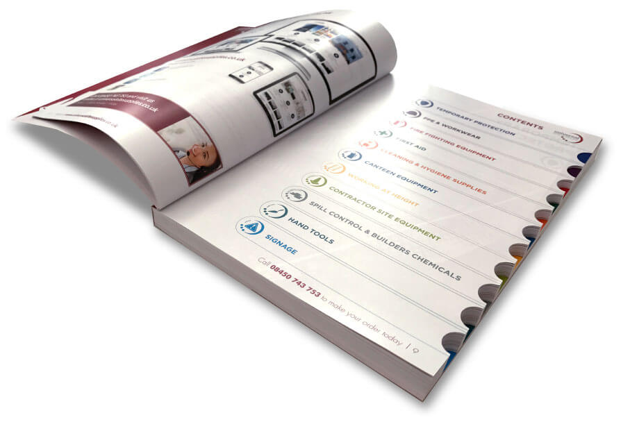 Essex branding and marketing catalogue design